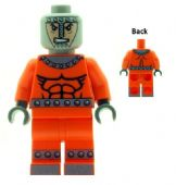 Bulldozer From Wrecking Crew - Custom Designed Minifigure